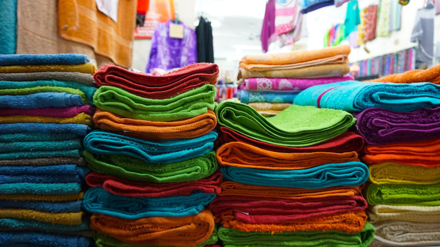 Full Frame Shot Of Colorful Objects For Sale