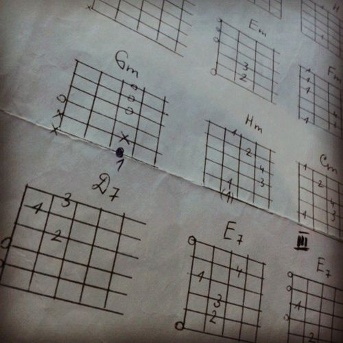 Guitar Chords Guitar_chords Music