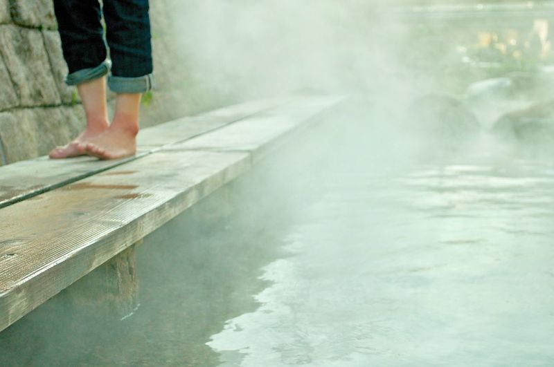 Foot bath in