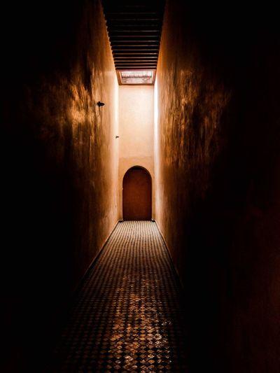 Dark Empty Corridor