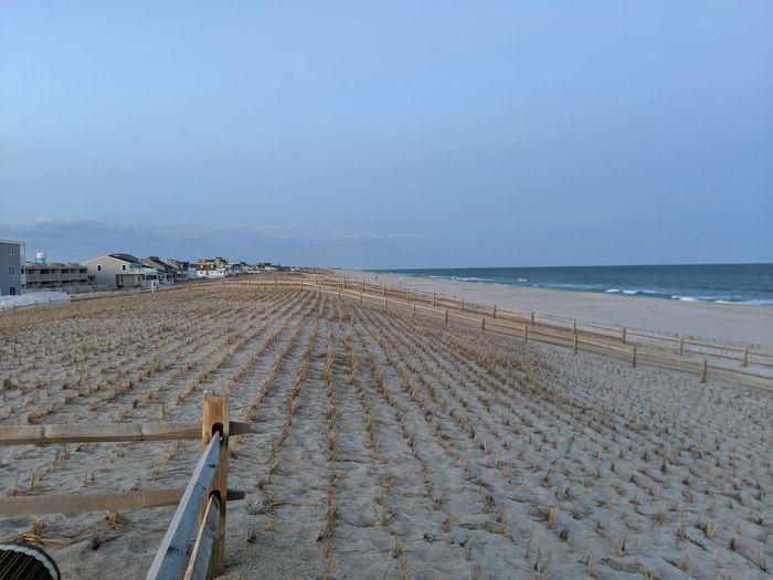 Atlantic ocean sand dunes