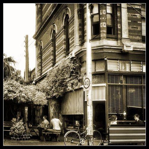 Fitzroy - Melbourne Lechatnoir BLackCat Cafe Brunswickst Caffeine Coffee Fitzroy Mainstreet Hipsters