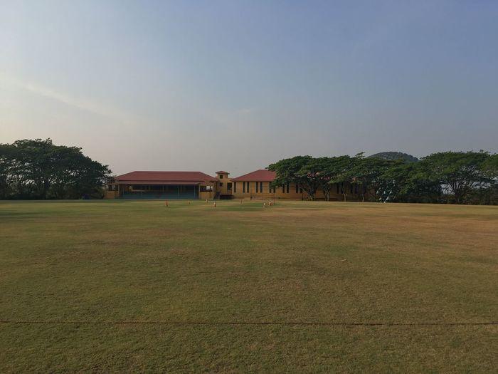 Cricket Ground Cricket Pitch Cricket Ground Field Cricket Field Field Landscape