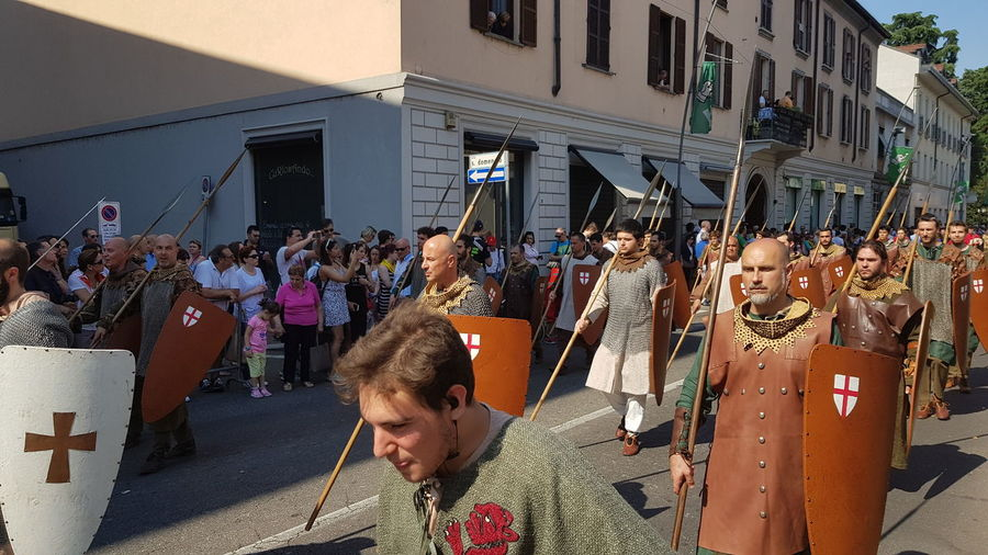 Hystorical Remembrance Hystorical Centre Medieval Festival MedievalTown Medieval Days Adult Medieval City People Palio Di Legnano Legnano Italy🇮🇹