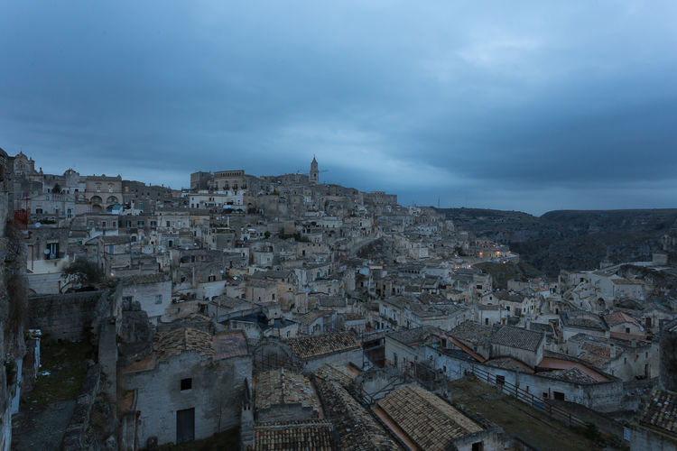 Architecture Basilicata Building Exterior Built Structure Cityscape Cloud - Sky Day History Houses Italy Matera Matera - Capitale Della Cultura Matera Italy Matera View Matera2019 No People Outdoors Residential Building Sky Portrait Travel Destinations Travel Landscape Beauty In Nature Landscape_Collection