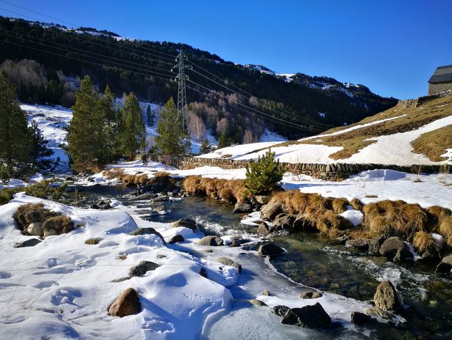 Snow Mountain Winter Cold Temperature Outdoors Nature Landscape Scenics Beauty In Nature Tranquility No People Andorra🇦🇩 Perspectives On Nature