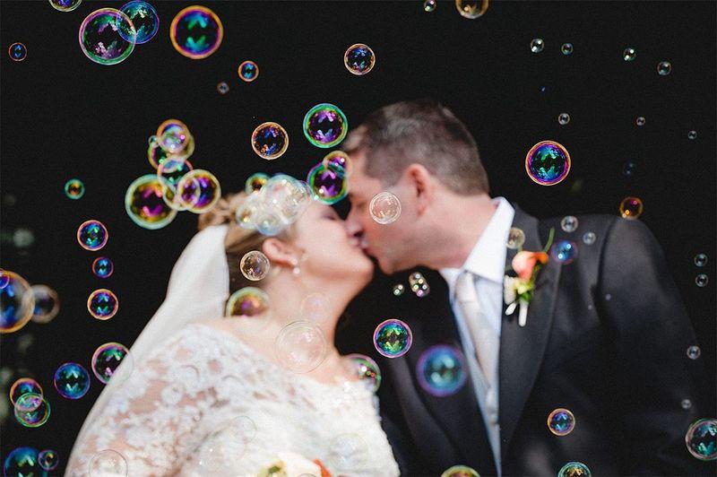 Bubble Kiss...