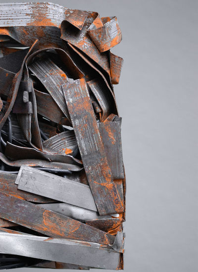 Metal Art Objects Abandoned Art Arts Culture And Entertainment Close-up Copy Space Damaged Decline Detail Deterioration Gray Indoors  Large Group Of Objects Macro Metal No People Object Photography Obsolete Old Ruined Run-down Rusty Stack Still Life Weathered The Still Life Photographer - 2018 EyeEm Awards The Creative - 2018 EyeEm Awards