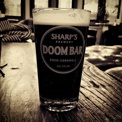 Friday pint. Pint Doombar Bitter Beer Alcohol Filter Harrogate