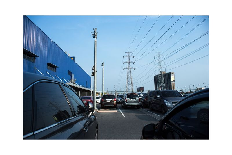 Car Transportation Mode Of Transport Clear Sky Land Vehicle Architecture Built Structure Sky Road Building Exterior Outdoors Travel Destinations Day City No People Vehicle Mirror Vivitarwideangle Canon Canonphotography Canon6d