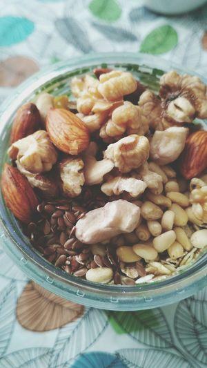 EyeEm Selects Pine Nut Bowl Dried Fruit Vegetarian Food Nut - Food Italian Food Close-up Food And Drink Chestnut - Food Hazelnut Nutshell Peanut - Food Nut Dried Food Almond Cashew