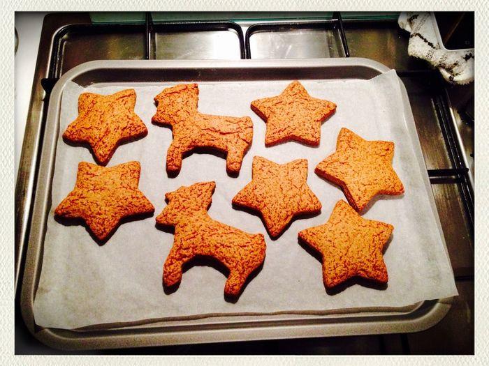 Christmas gingerbread baking cute