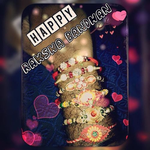 Rakhi Allmysisters <3 Sailu Pooji Prabha Kala Kalyani Devi :-) Happy Joy Love Missingfew