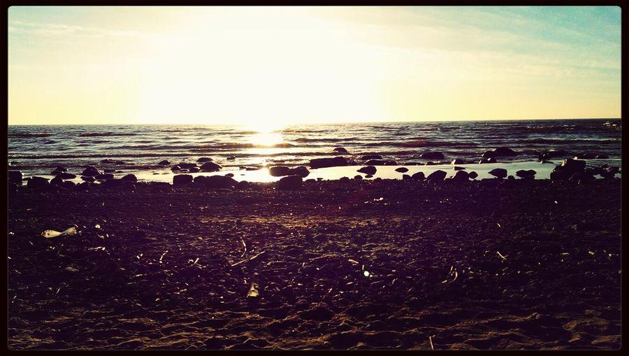 Sea Sunshine Landscape Beach