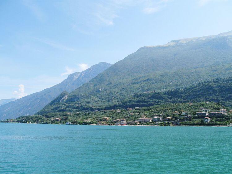 Blue Mountain Water Landscape Cloud - Sky Scenics Sky Lake Garda Nature Sea View Lake View Italy