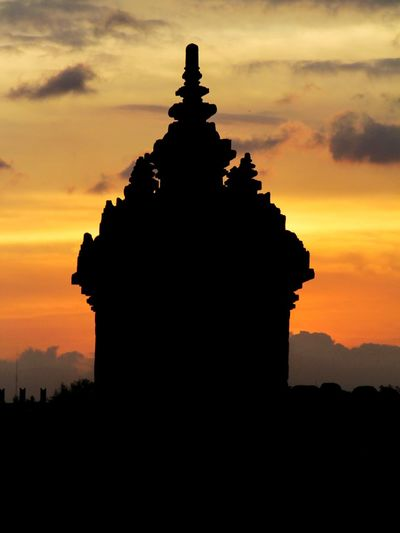 Landscape Tample Ancient Civilization Sunset Statue Place Of Worship King - Royal Person Ancient Silhouette History Architectural Column