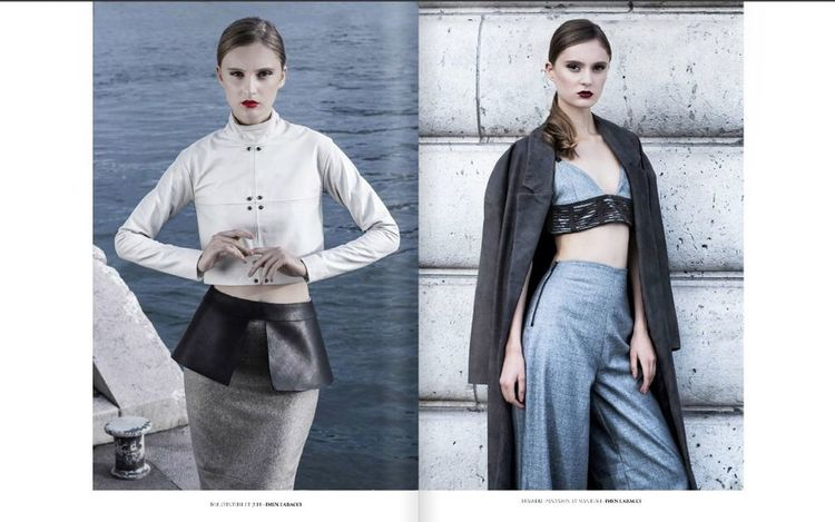 For Ô magazine Magazine Ômagazine Photomagazine Girl Hair Make Up Fashion Seine Stylist