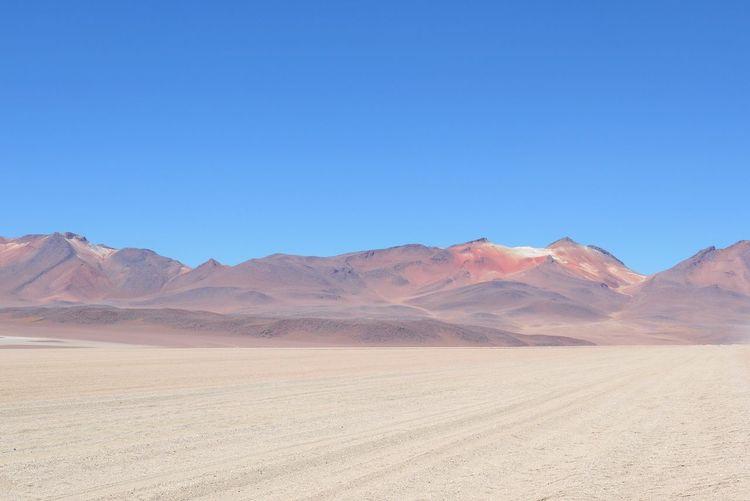 Parque Nacional De Eduardo Avaroa Eduardo Avaroa Volcano Desert South West Bolivia Bolivia Colours Colourful Scenery