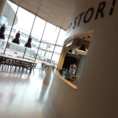 Architecture No People Indoors  Day Futuristic Sky Fazer Caffè Factory