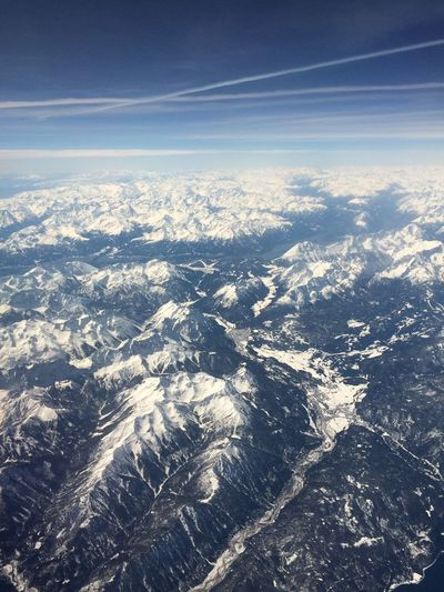 Mountains Snow