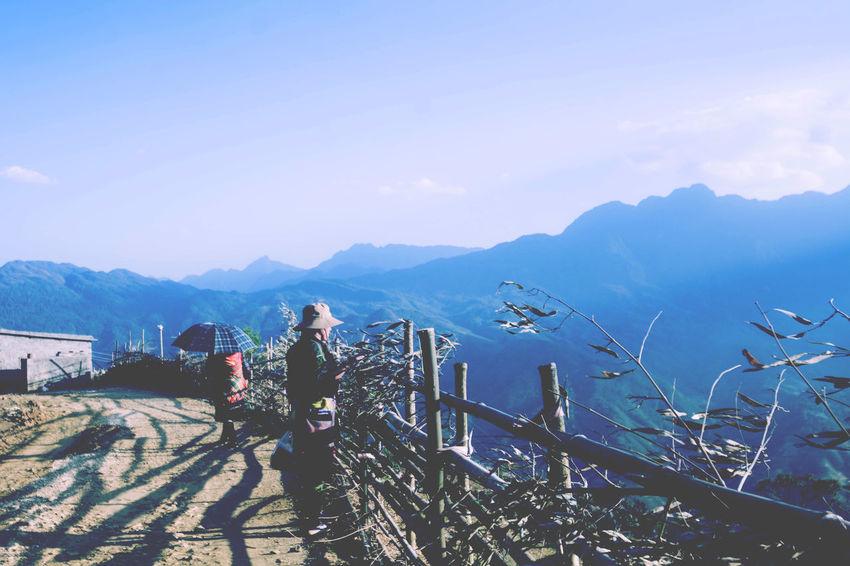 #agriculture #asia #Blue #bluesky #Hmong #landscape #nature #photography #moutains #sapa #sky #Tribal3 #Vietnam