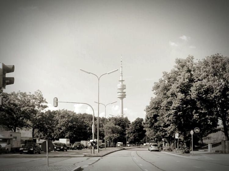 🌳🌞 Munich Tollwood City Streets Traffic Lights Traffic