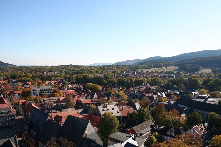 Goslar Niedersachsen OverviewPoint Overview Kirchblick
