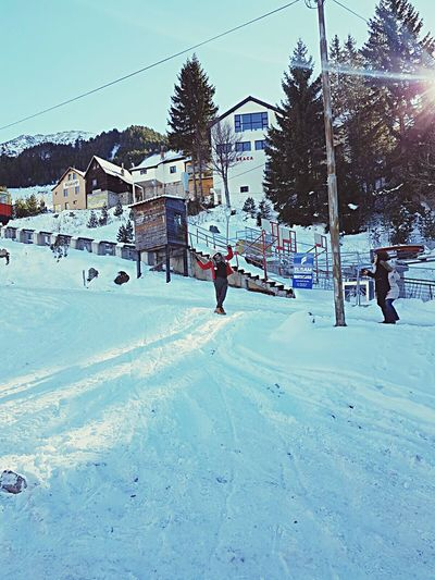 Snow Sports Brezovica Snow Snow Day Kosova Albania Shqiperia Winter Cold Temperature Like4like City Life People Followme