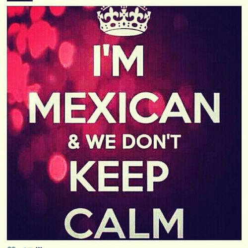 Being A Mexican