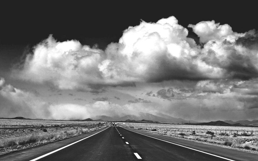 Winslow Arizona Open Road Summer Views Shades Of Grey EyeEm Nature Lover