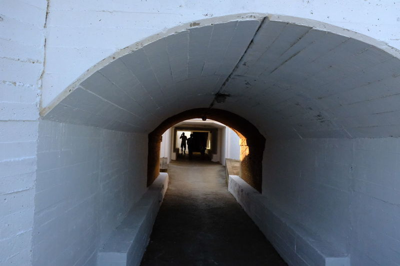 Silhouettes Architecture Built Structure Arch Underground Passage Street Photography Shadows