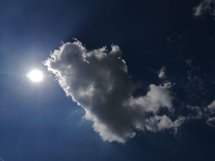 Sky Day Sun Cloud Blue Summer