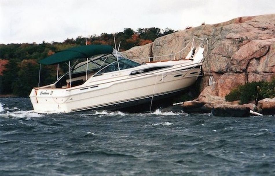 GPS error Accidents And Disasters Nautical Vessel Navigation Error Oops I Did It Again  Rock - Object Transportation