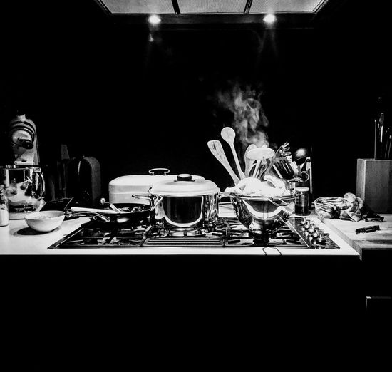 cooking. Table Domestic Room Plate Archival Food And Drink Drink Indoors  Stove Kitchen Domestic Kitchen Kitchen Utensil Food No People Espresso Maker Day EyeEmNewHere