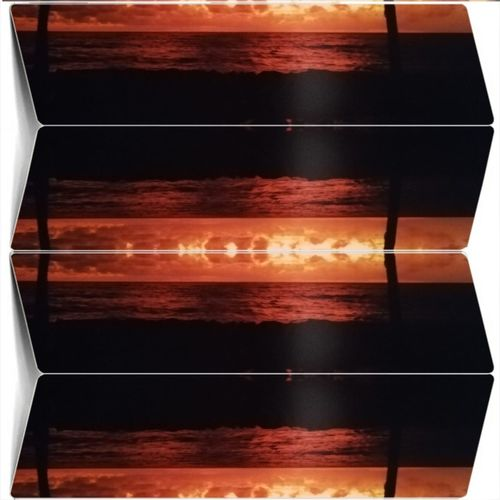 Sonnenuntergang Kolace Sunlight Water Illuminated Neon Sunset Astronomy Futuristic Red Sky Cloud - Sky Shining