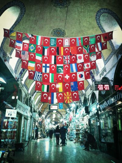 Istanbul Check This Out flags