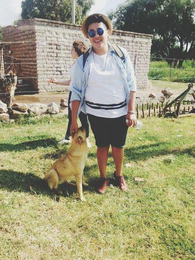 Me encontre un peludito. Bien agradable en mi viaje Dog Dogislove Pet Travel Relaxing Taking Photos Aroundtheworld Hello World People Photography Guanajuato