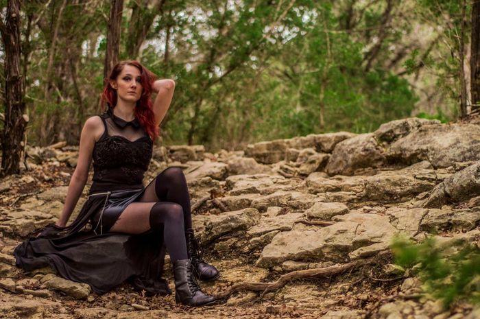Photo 27 green belt shoot. Model: Viccy Lemmond Photography Texas Beautiful Girl Model Nature Photoshoot Austin Green Belt