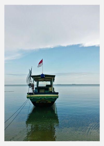 Sea And Sky Boat The Explorer - 2014 EyeEm Awards
