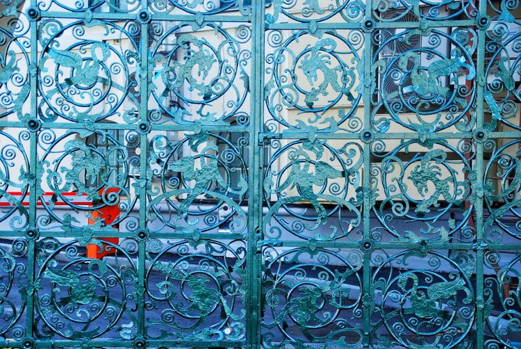 Full Frame Pattern Backgrounds Close-up No People Outdoors Blue Day Textured  Nature архитектура Россия НижнийНовгород ворота EyeEmNewHere