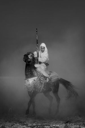 horse ride Dunes Epic Horses Man And Horse Nature Tradition Traditional Culture Armed Forces Dusk Dust Equestrian Horse Riding Men Morroco One Man Only One Person Outside Performance Wild