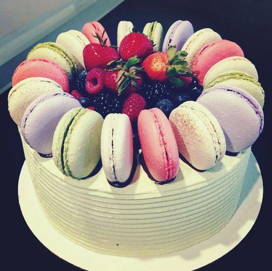 Greenteamacaroncake Cake Macaroncake