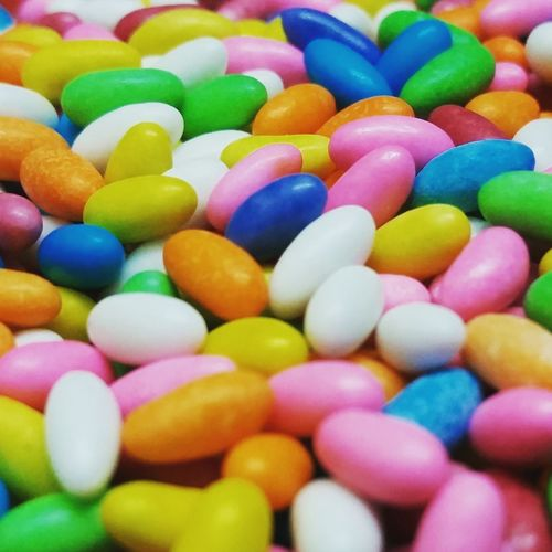 Multi Colored Sweet Food Temptation Candy No People Close-up Childhoodfavorite Cumin Seed