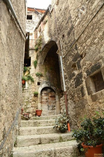 Spirituality Cultures Landscapes With WhiteWall Landscape Idyllic Tranquil Scene Tradition History Built Structure Architecture Famous Place Italy Abruzzo - Italy Village View Borghipiúbelliditalia Pacentro Pacentro Photo Italy Traditional