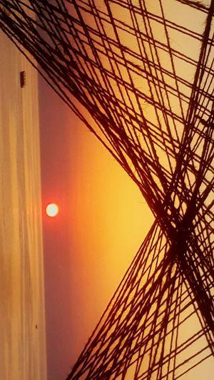 Net Sunsets! Sunset Sunset_collection Net Sunsetgazing Boat Goldenhour RedHour Goldenreflection Colorsofasunset Sunsetphotography Photographyonthego Cameraworld PHOTOGRAPHYLIFESTYLE