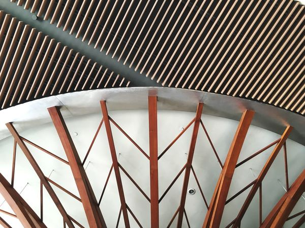 Line Pattern Metal No People Architecture Built Structure Day EyeEmNewHere High Angle View Close-up Sunlight Outdoors Connection Security Safety Iron - Metal Wall - Building Feature Railing Nature Fence Protection Barrier