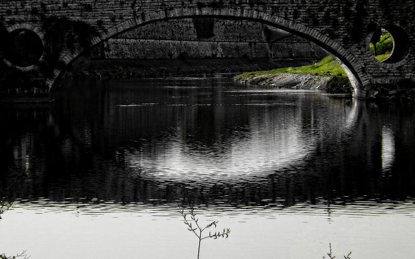 Architecture Bridge - Man Made Structure Built Structure Day Nature No People Outdoors Reflection Water