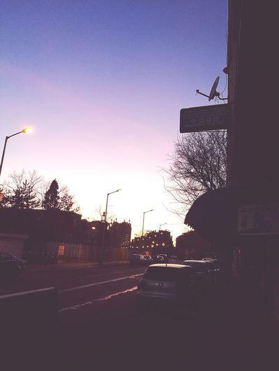 Sky Street Dramatic Sky