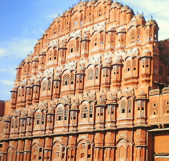 Temple of the Wind - Jaipur, India Architecture Building Exterior Built Structure Close-up Day Jaipur Rajasthan Low Angle View No People Outdoors Sky The World Before Bin Laden Travel Destinations