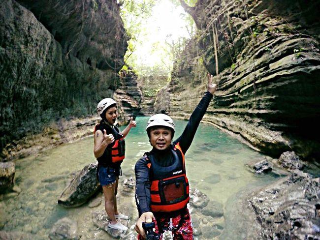 Canyoneering Kawasan Falls Badian,Cebu. Philippines